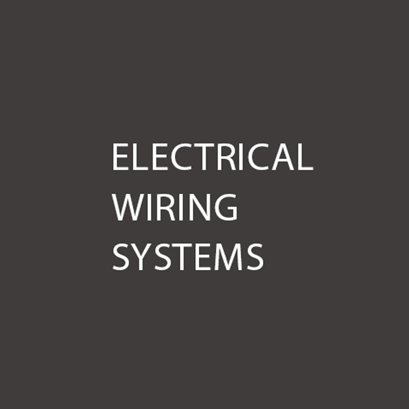 Motorsport and automotive electrical wiring systems